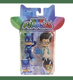PJ Masks- Figuras de acción (Bandai )
