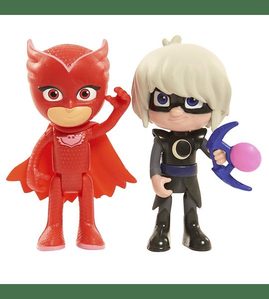 PJ Masks- Figuras de acción (Bandai)