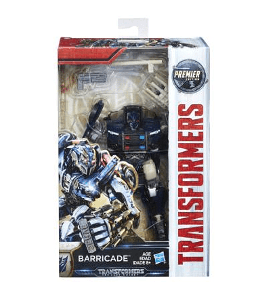 TRANSFORMERS: THE LAST KNIGHT - BARRICADE EDICIÓN DE LUJO.