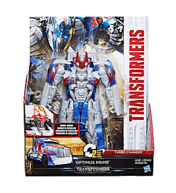 TRANSFORMERS: THE LAST KNIGHT -- TURBOCHANGER ARMADURA DE CABALLERO OPTIMUS PRIME.