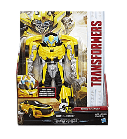 TRANSFORMERS: THE LAST KNIGHT -- TURBO CHANGER ARMADURA DE CABALLERO BUMBLEBEE.