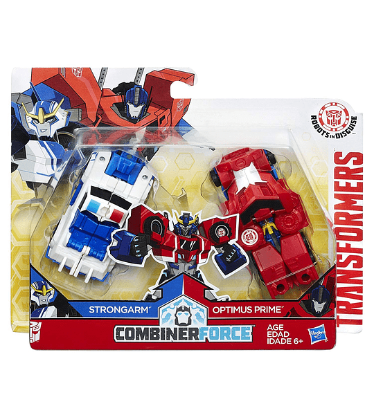 TRANSFORMERS: ROBOTS IN DISGUISE - COMBINER FORCE - COMBINER DE CHOQUE - PRIMESTRONG