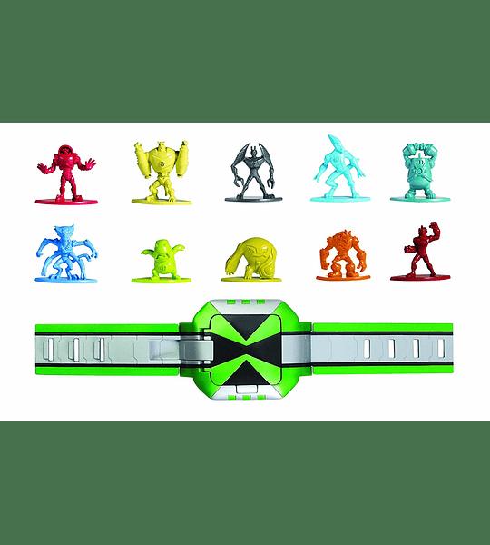 Reloj Retro Omnitrix con Figura Omniverse - Ben 10