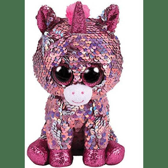 Ty Beanie Boos Lentejuelas Figuras Unicornio 28 CM