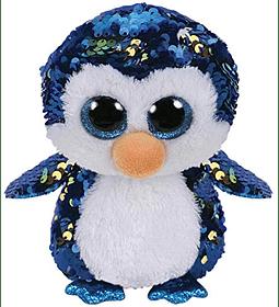 Ty Beanie Boos Lentejuelas Figuras Pinguinos 28 CM