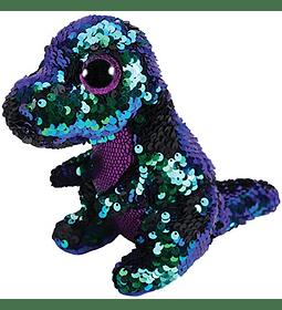 Ty Beanie Boos Lentejuelas Figuras Dinosaurio 28 CM