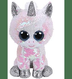 Ty Beanie Boos Lentejuelas Figura Unicornio 18 CM
