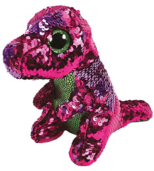 Ty Beanie Boos Lentejuelas Figuras Dinosaurio 18 CM
