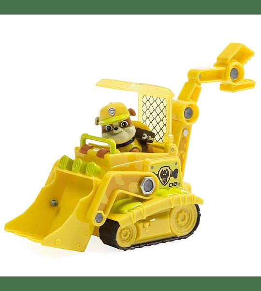 Paw Patrol - Rubble con vehículo de la Jungla