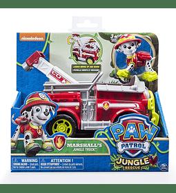 Paw Patrol - Jungle Rescue, Marshall de la Selva camión