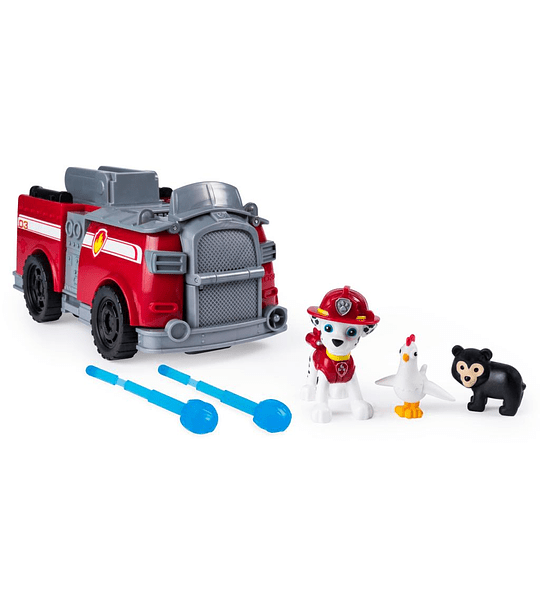 Paw Patrol- Marshall Ride n Rescue Vehicle