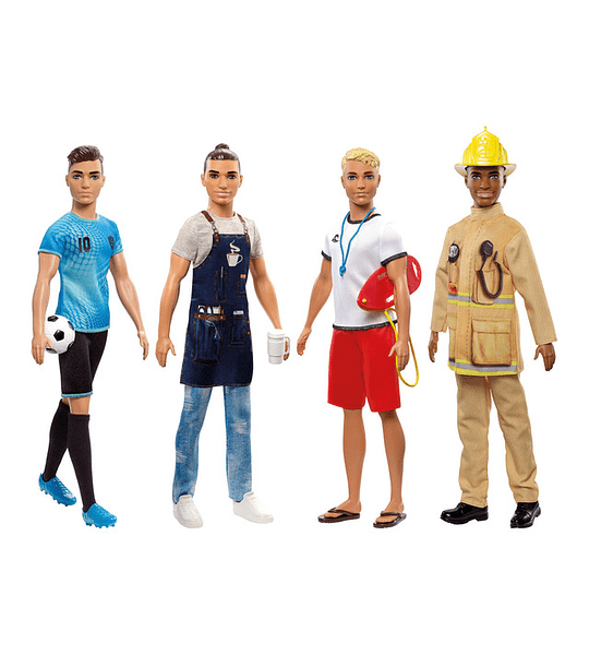 Ken - Socorrista con accesorios Mattel