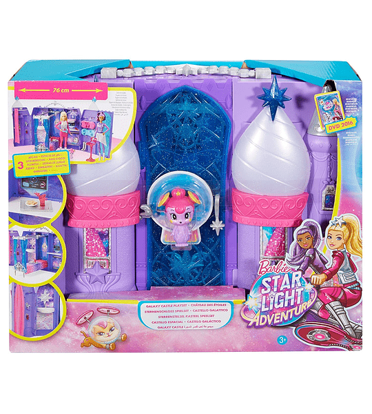 Castillo Barbie Starlight Starlight Aventura Galaxy