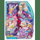 Barbie Star Light Galaxy Barbie Doll & Flying Cat