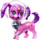 Barbie Star Light Adventure Galaxy Dog Figure, Pink