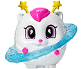 Barbie luz de la estrella aventura Galaxy gato figura, Blanco