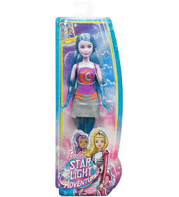Barbie Star Light Adventure Star Doll, Blue