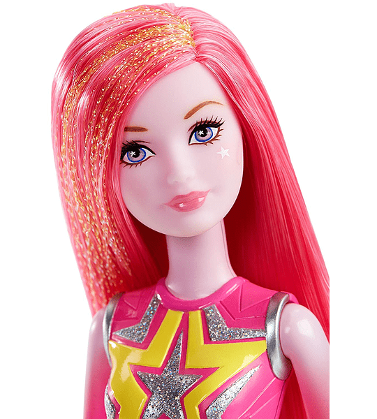 Barbie Star Light Adventure Co-Star Doll, Pink