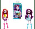 Barbie Star Light Adventure - Muñeca de tamaño pequeño para cabello rosado y amarillo