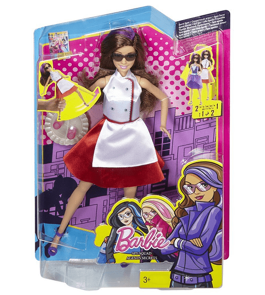 Barbie - Teresa Escuadrón Espía, agente secreto