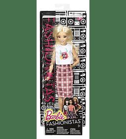 Barbie, muñeca fashionista, modelo Rock 'n' Roll; Baja