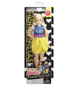 Barbie Fashionistas muñeca Chambray Chic Con curvas