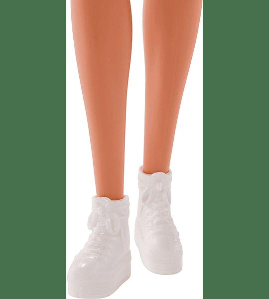 Barbie Fashionista, Muñeca Chic look naranja, Mattel