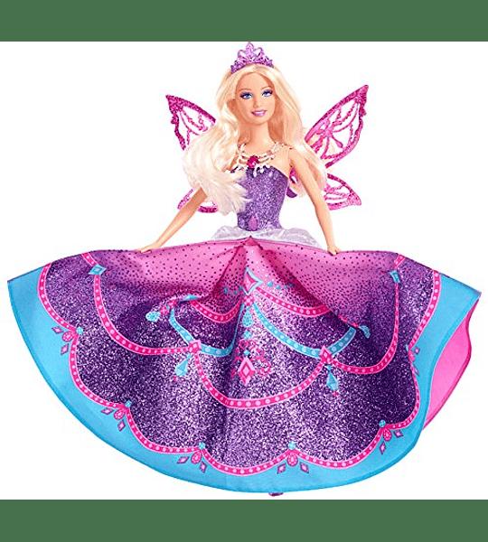 Barbie - Catania Collection de Lujo Mariposa y princesa de hadas año 2013