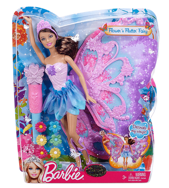 Barbie Teresa Hada Alas y Flores Collection Premium Año 2012
