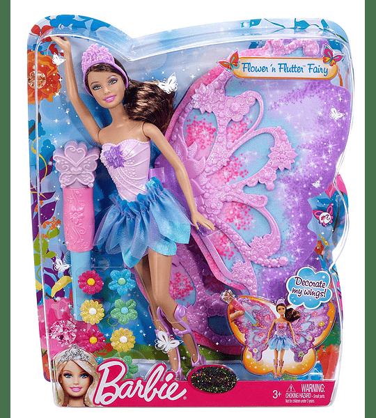 Barbie Teresa Hada Alas y Flores Collection Premium Año 2012
