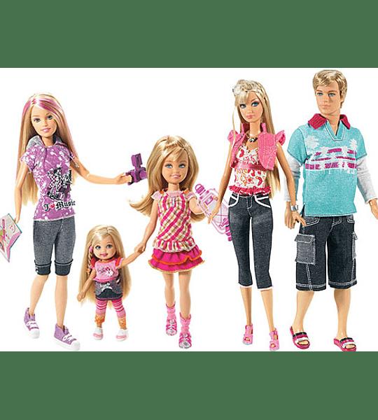 Barbie Stacie & Kelly Colección de Lujo Año 2008
