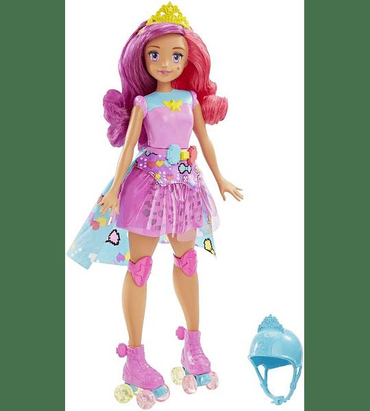 Barbie Superheroína de Videojuego - Muñeca Princesa Bella