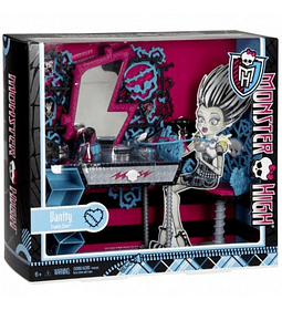 Monster High Tocador de Frankie Stein Accesorios