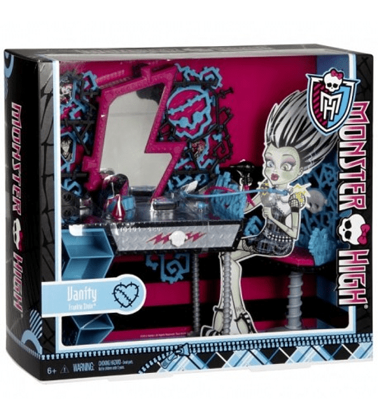 Monster High Tocador de Frankie Stein Accesorios