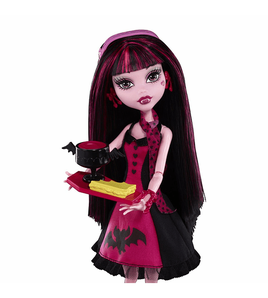Monster High Draculaura (es la primera edición el playset ) Mattel año 2010