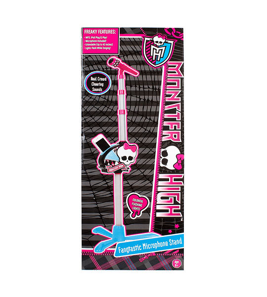 Monster High Micrófono de karaoke Compatible Para el iphone /ipod /mp3