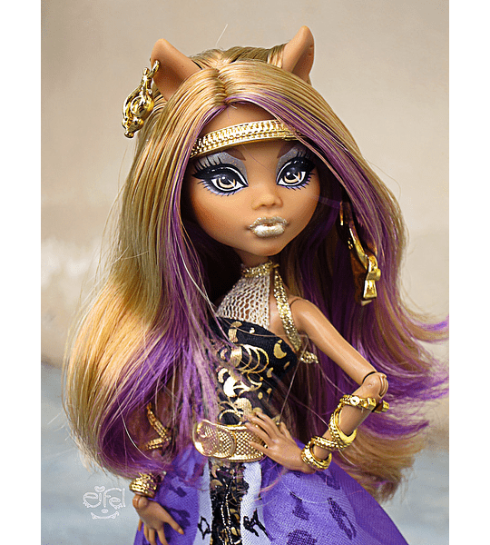 monster high Clawdeen wolf 13 Deseos (Mattel) collection 2012