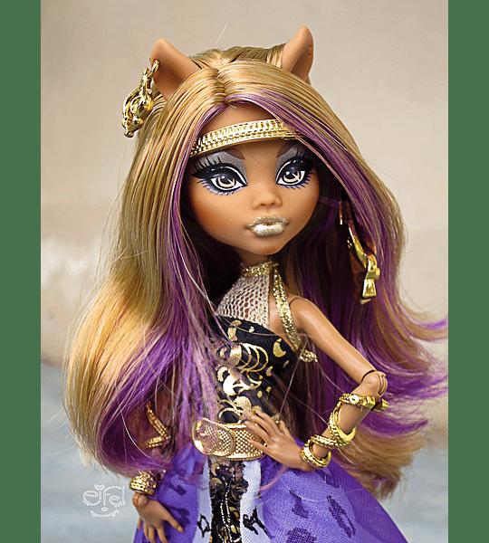 monster high Clawdeen wolf 13 Deseos (Mattel) collection 2012