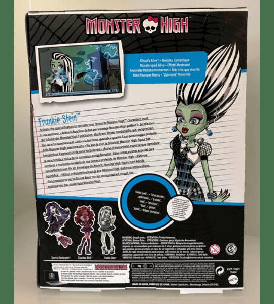 Monster High - Muñeca más viva que muerta Frankie Stein (Mattel)
