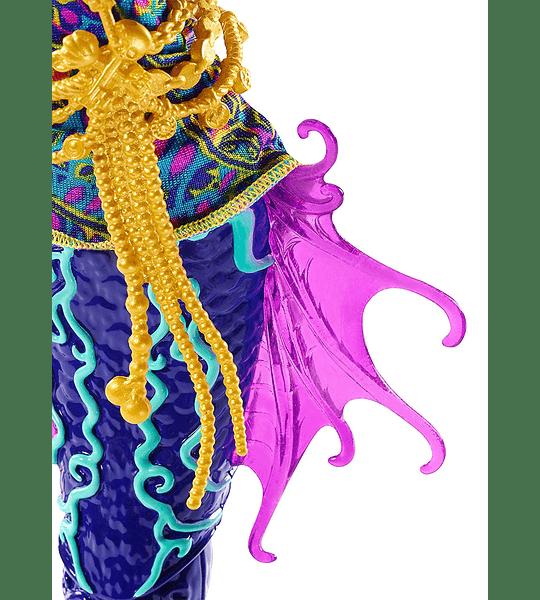 Monster High - el Gran Arrecife Monstruoso Monstruo-Hermanas Peri y Pearl Serpentine