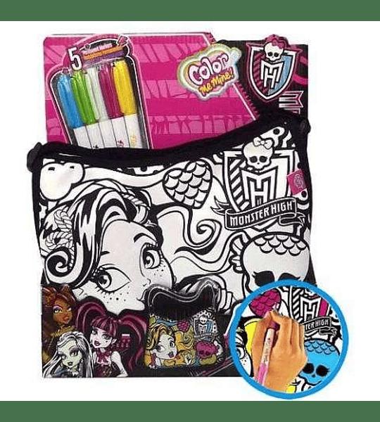 Monster High Bolso Colorea para crear un diseño único