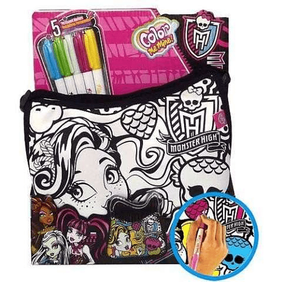 Monster High Bolso Colorea para crear un diseño único