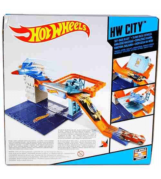 Hot-Wheels Pista Explosión Espacial.