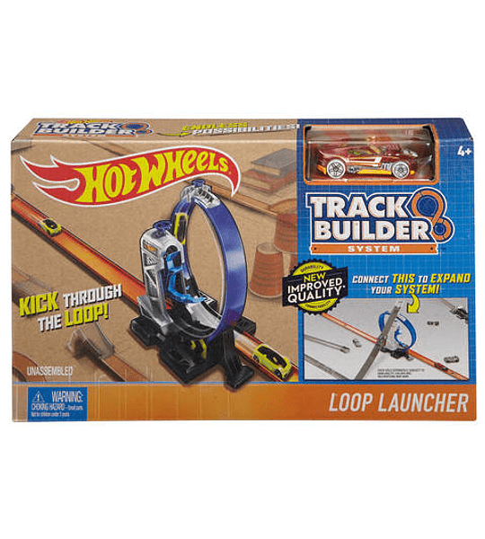 Hot Wheels - Pista, propulsores 360
