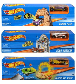 Hot Wheels - Mega rampa de Salto, Exclusivo 1 (Mattel)