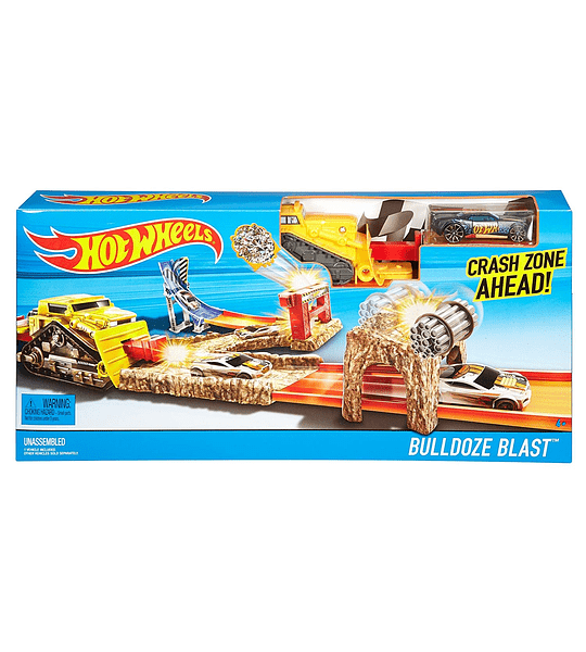 Hot Wheels - Lanzador del Terror (Mattel)