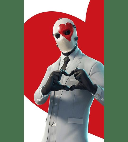 Fortnite - Figura de Wild Card Rojo