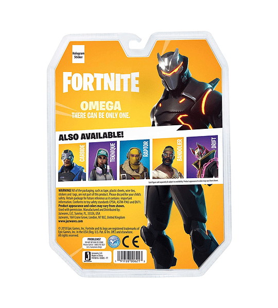 Fortnite - Omega Coleccionable