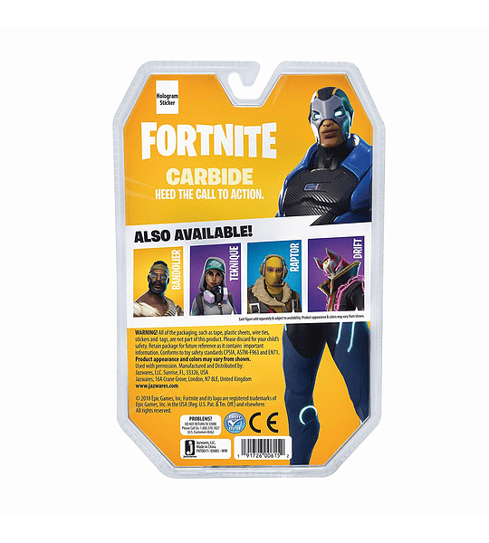 Fortnite Figura articulada Carbide, ( Intex )