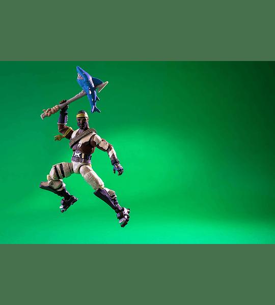 Fortnite - figura de Raptor, articulada y con accesorios